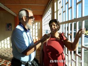 La Dirigente Social de Rómulo Gallegos, Doris Rebolledo