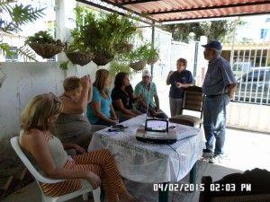 Los Vecinos esperando el momento de comenzar el programa que fué impedido por la Cadena Radial de Maduro.