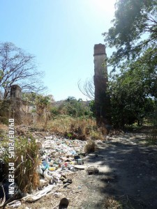 Las Ruinas del Monumento Histórico de Tamborito...En Ruinas