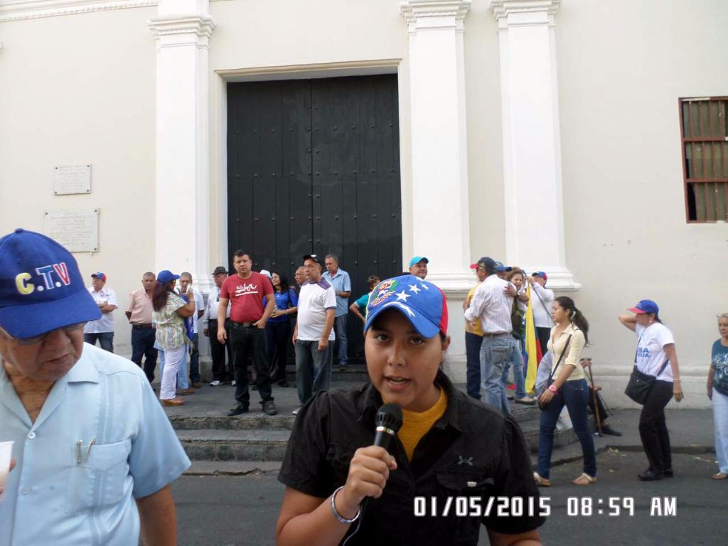 LOS TRABAJADORES EN SU DÍA…PROTESTARON