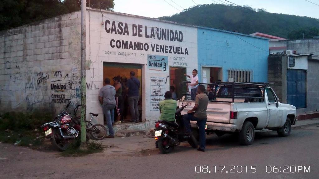 MAGDALENO DIJO PRESENTE CON EL PADRÓN ELECTORAL