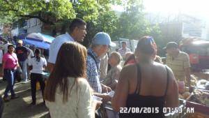 En el Mercado de La Coromoto en Villa de Cura