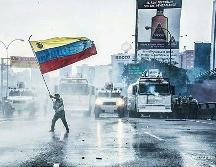 26 de Abril Venezuela Resiste Dip. Arnoldo Benitez Orgullo Nacional