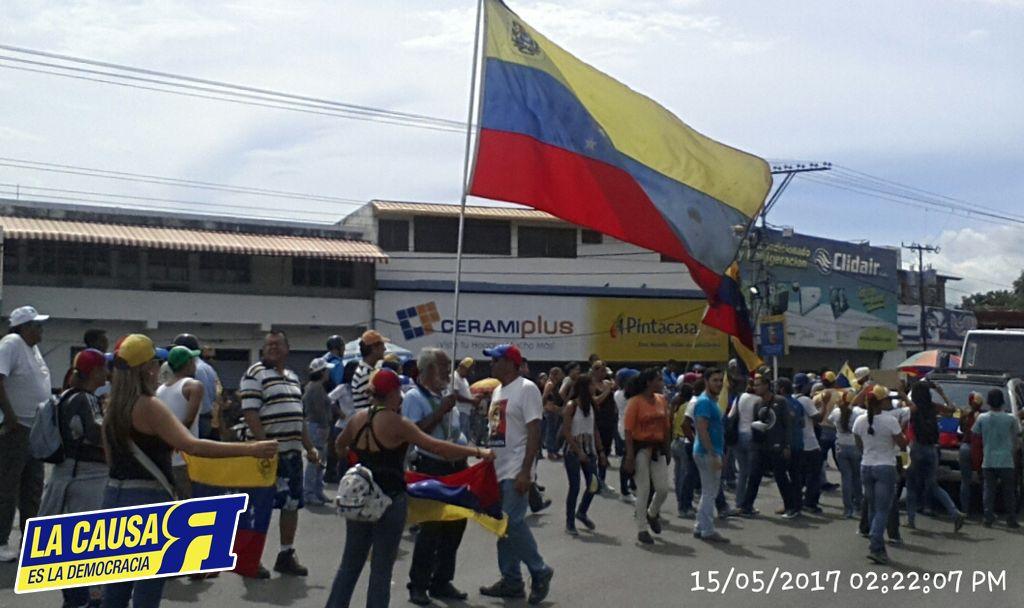 15 De Mayo CAGUA No Abandona Las Calles