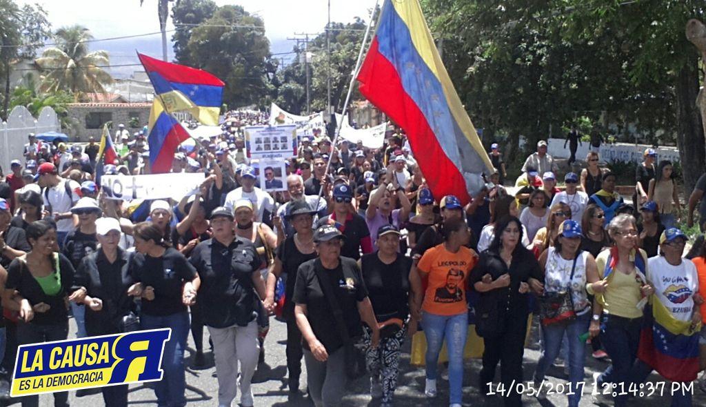 14 De Mayo Marcha de las MADRES Aragua