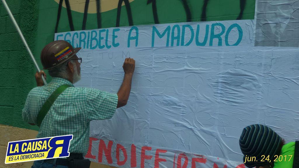VENEZUELA Entera se Convirtió en el Campo de CARABOBO